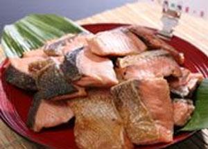 和食といえば鮭の塩焼きですね!