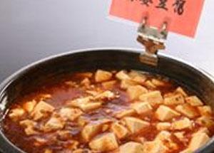 和洋と言いながらも人気の麻婆豆腐もご用意。