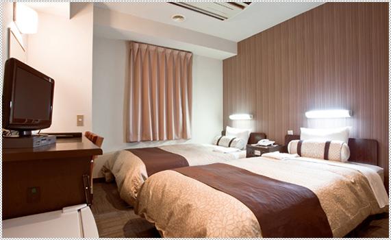 Point 4 全室ロング&ワイドベッド