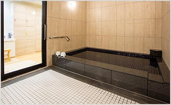 Point 3 パブリックバス・貸切風呂・サウナ完備