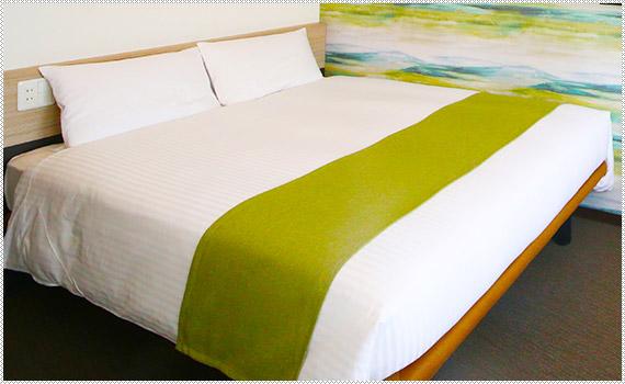 Point 6 呉竹荘オリジナルベッド