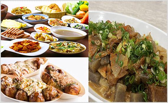 Point 1 35種類の朝食バイキング